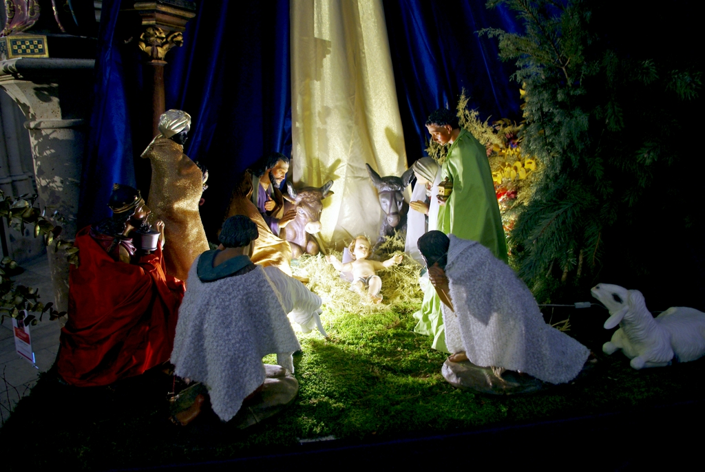 Nativity Scene Paris