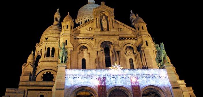Sacré-Cœur Montmartre Christmas LR © French Moments