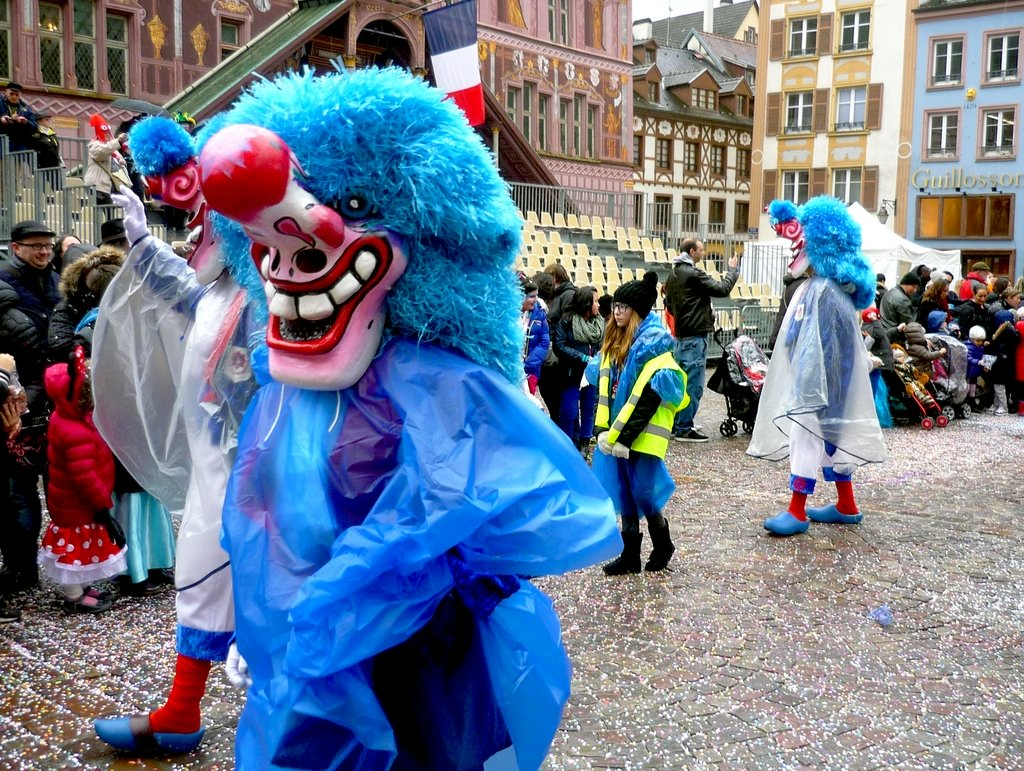 Mardi-Gras in France - Mulhouse Carnival © French Moments