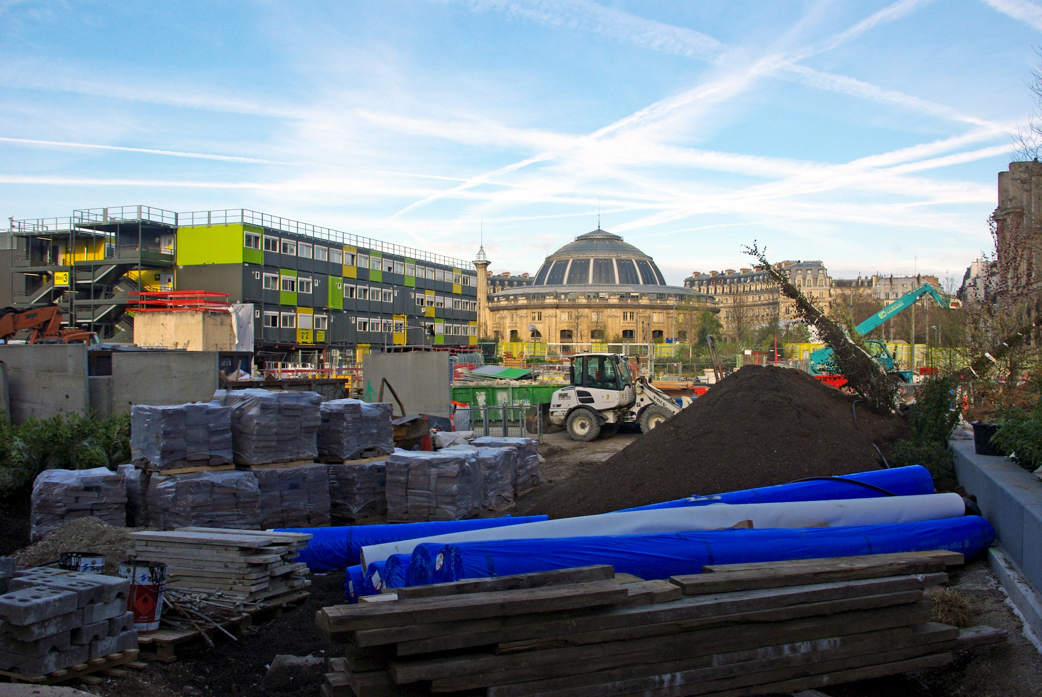 Work in progress at Les Halles, Paris © French Moments