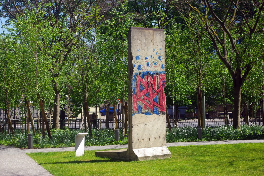 Berlin Wall section in Paris © French Moments