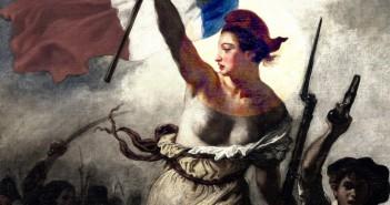 Eugène Delacroix - La liberté guidant le peuple detail 2