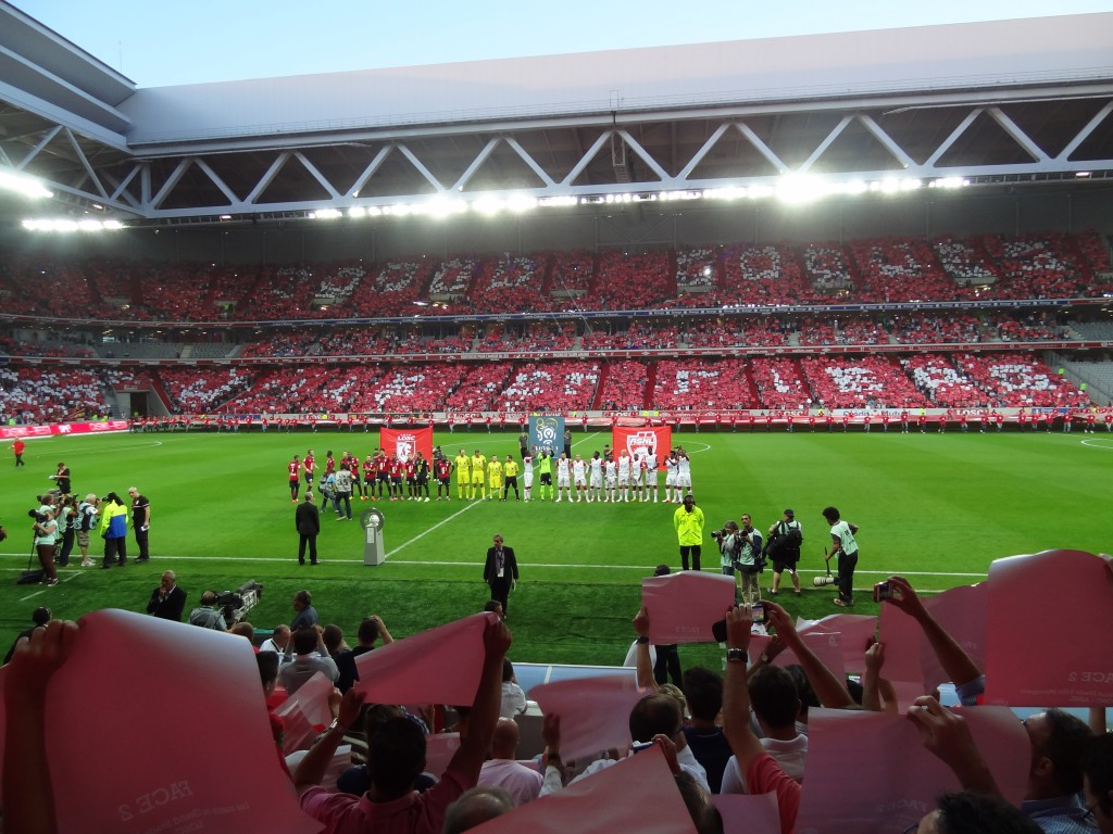 Lille Stadium © liondartois - licence [CC BY-SA 4.0] from Wikimedia Commons