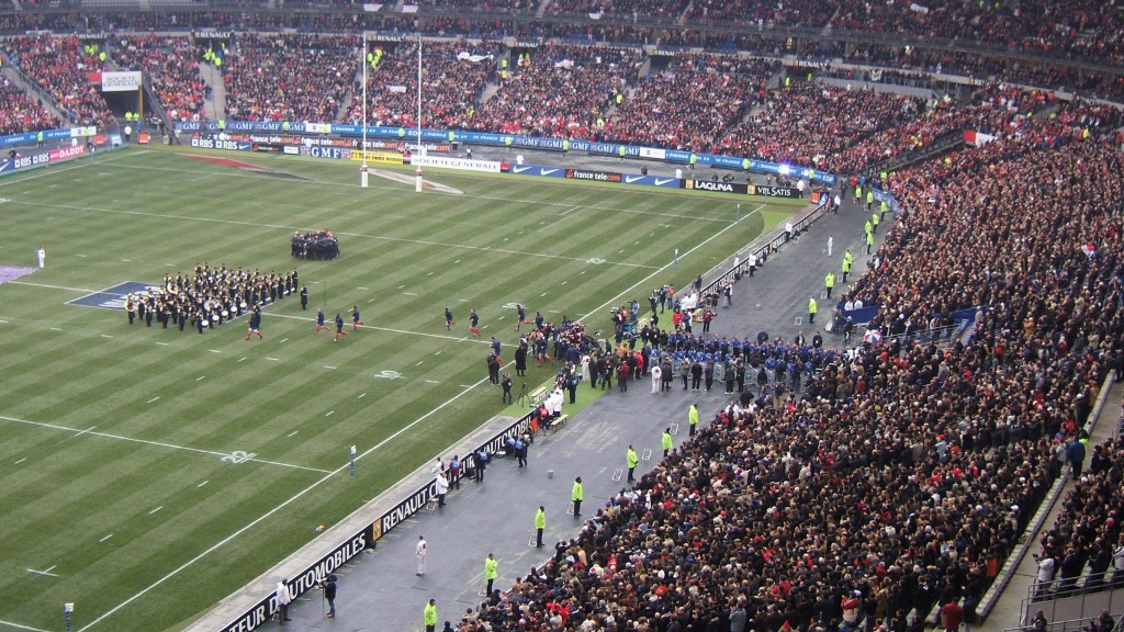 An event in the Stade de France by Roman.b (Travail personnel) [FAL], via Wikimedia Commons