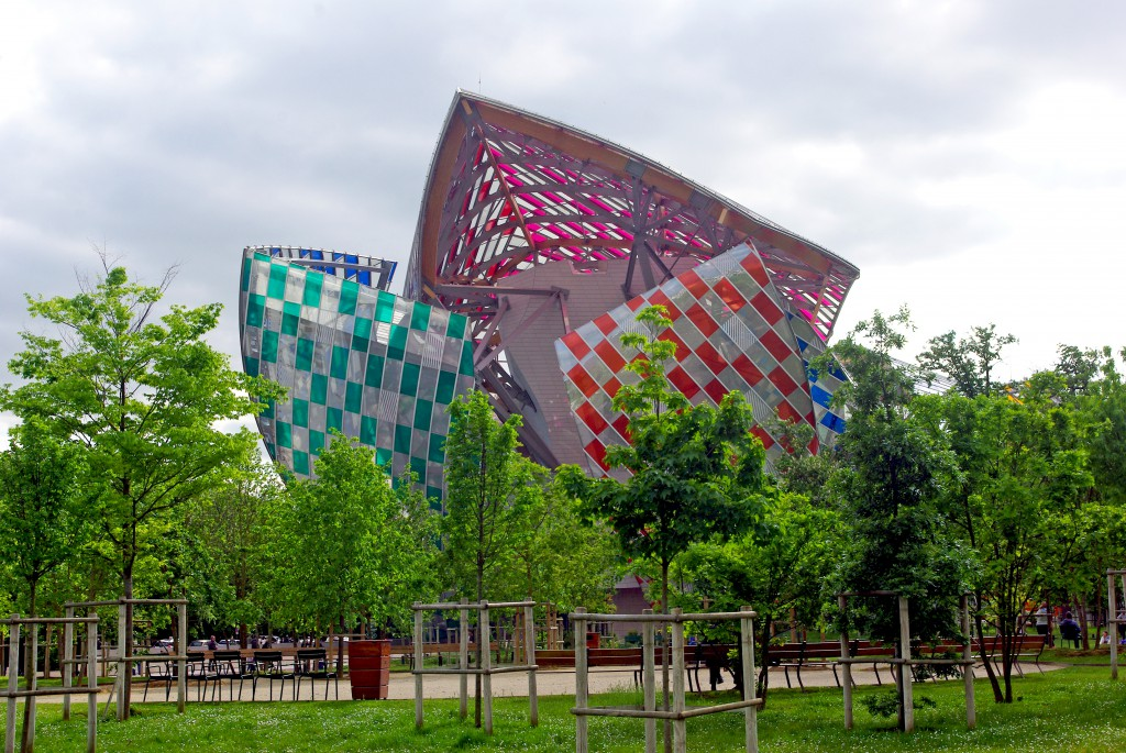 The Fondation Louis Vuitton © French Moments