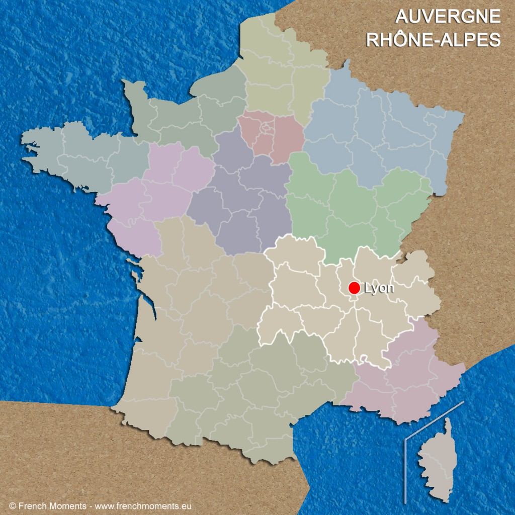Regions of France Auvergne Rhône Alpes June 2016 copyright French Moments