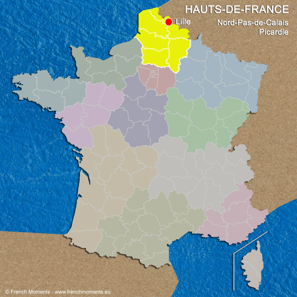 Regions of France Hauts-de-France June 2016 copyright French Moments