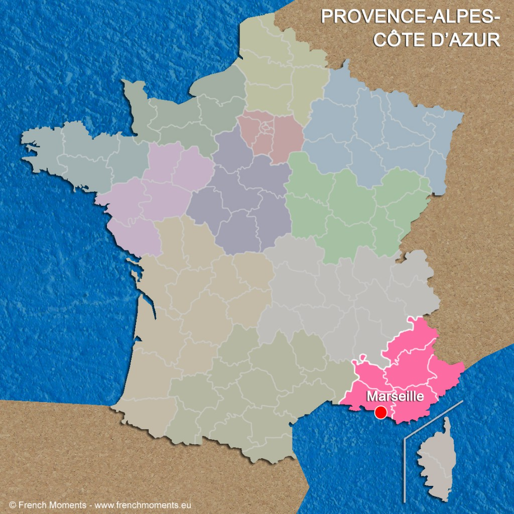 Regions of France Provence Alpes Côte d'Azur June 2016 copyright French Moments