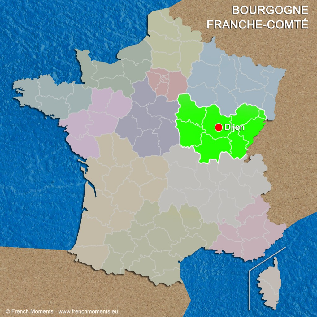 Regions of France Bourgogne Franche Comté June 2016 copyright French Moments