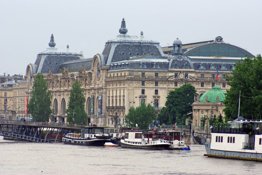 The Orsay Museum by the Seine on 4 June 2016 © French Moments