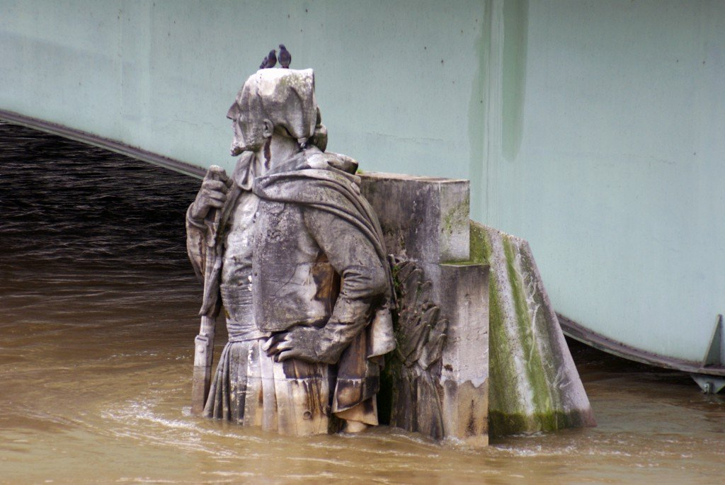The Zouave Statue on Pont d'Alma, 4 June 2016 © French Moments
