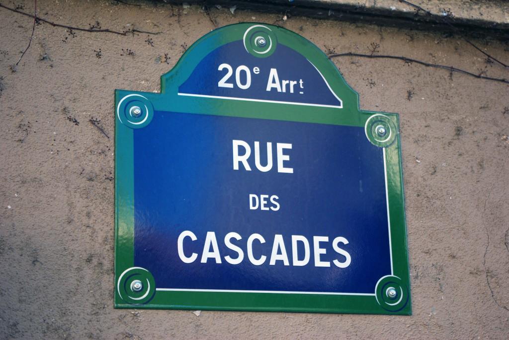 Rue des Cascades, Paris © French Moments