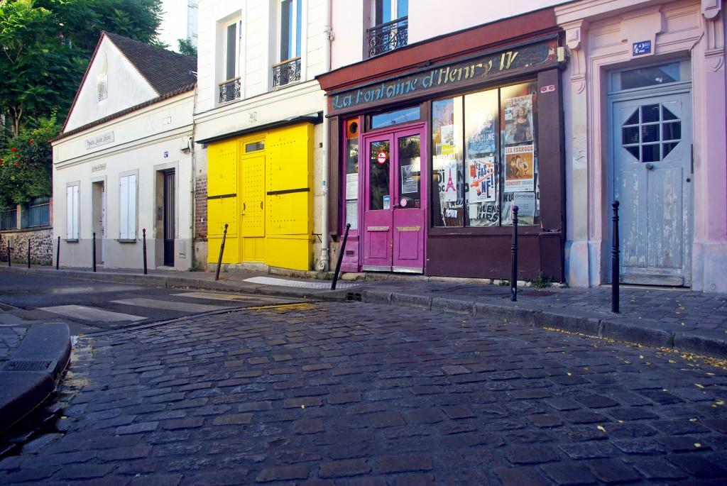 Rue des Cascades, Paris