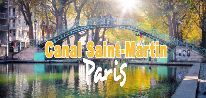 Canal Saint-Martin, Paris © French Moments