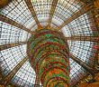 Art Nouveau Cupola in the Galeries Lafayette