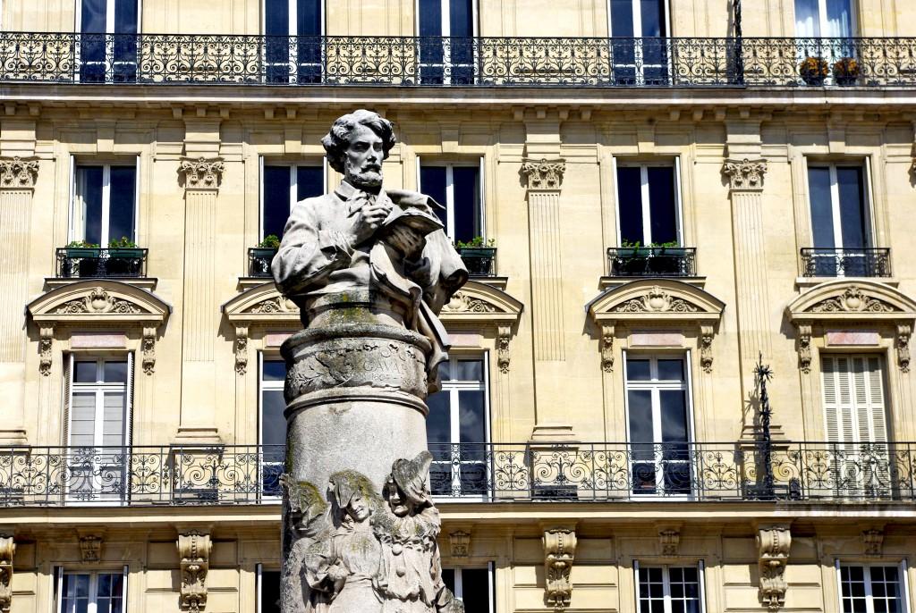 Gavarni monument, Paris © French Moments