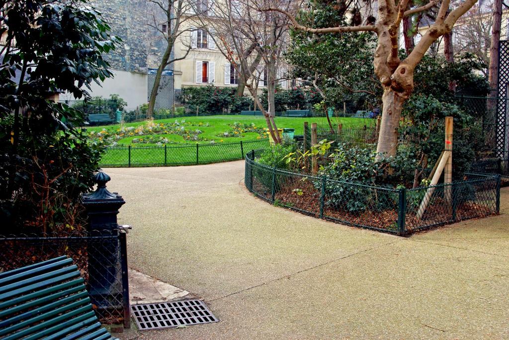 Square Alex Biscarre, Paris © French Moments