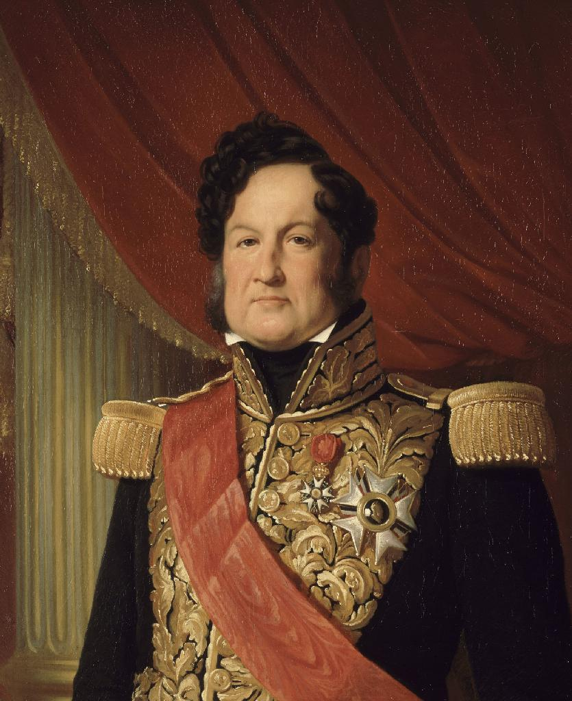 Louis Philippe I in 1838. Painting by Louise Adelaïde Desnos