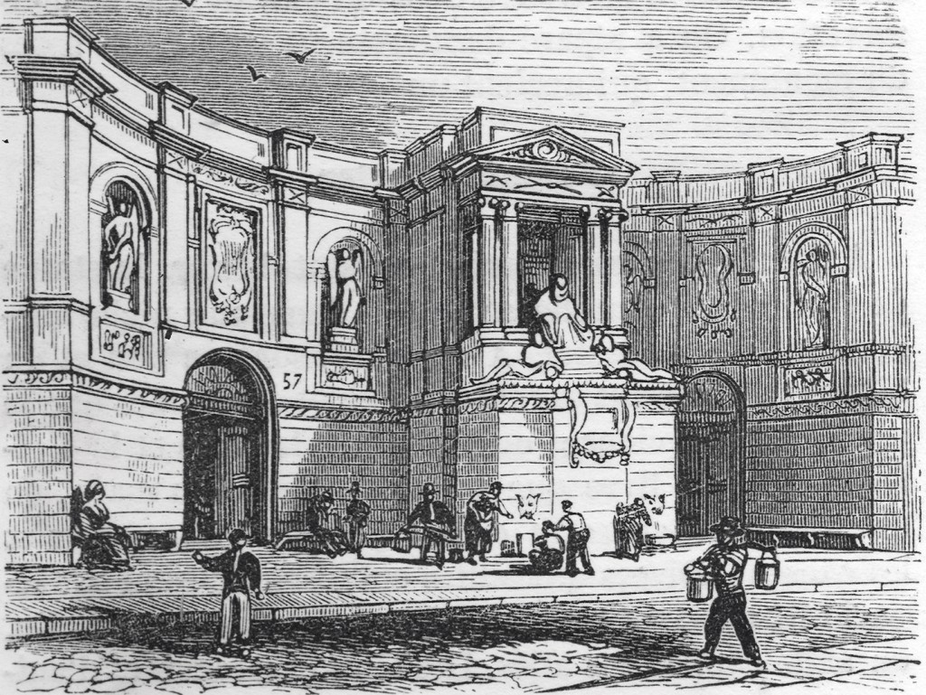 Fontaine des Quatre-Saisons, Paris