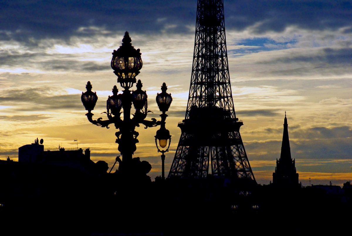 Alexandre III Eiffel Tower Paris