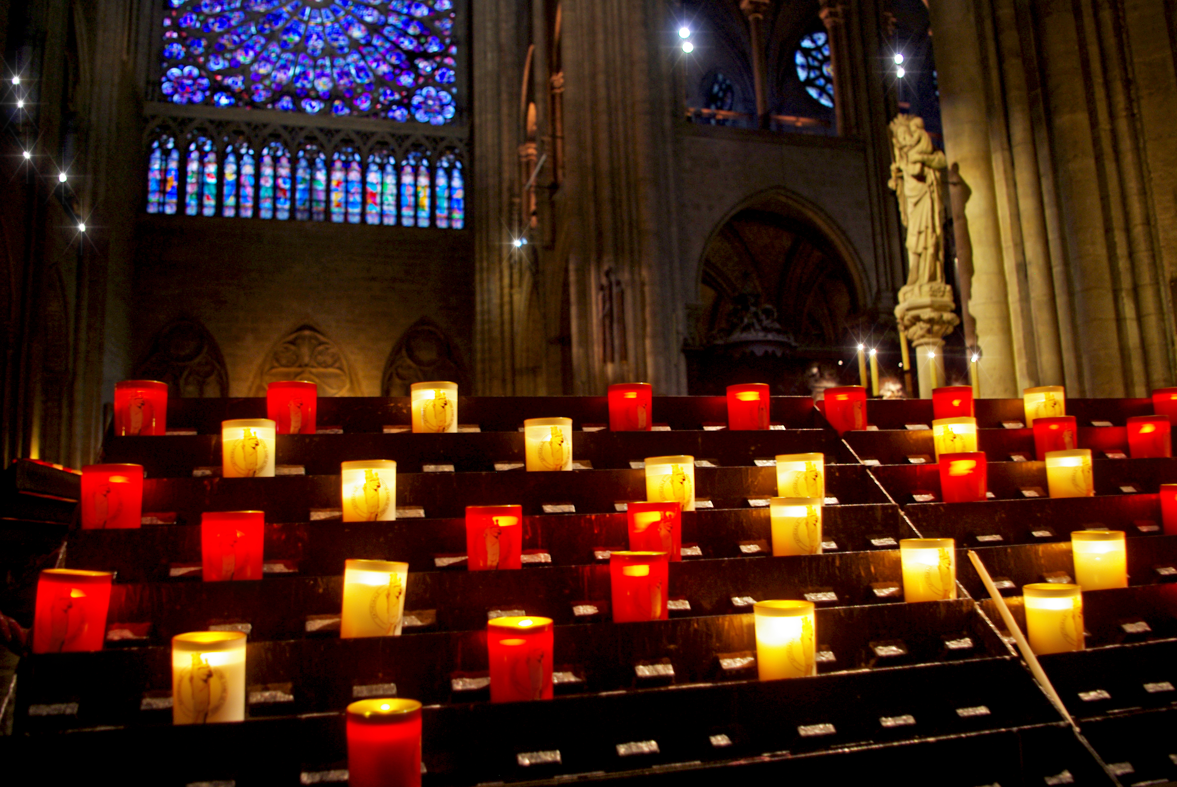 Christmas Notre-Dame Paris
