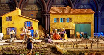 Christmas in France - Nativity Scene Notre-Dame Paris