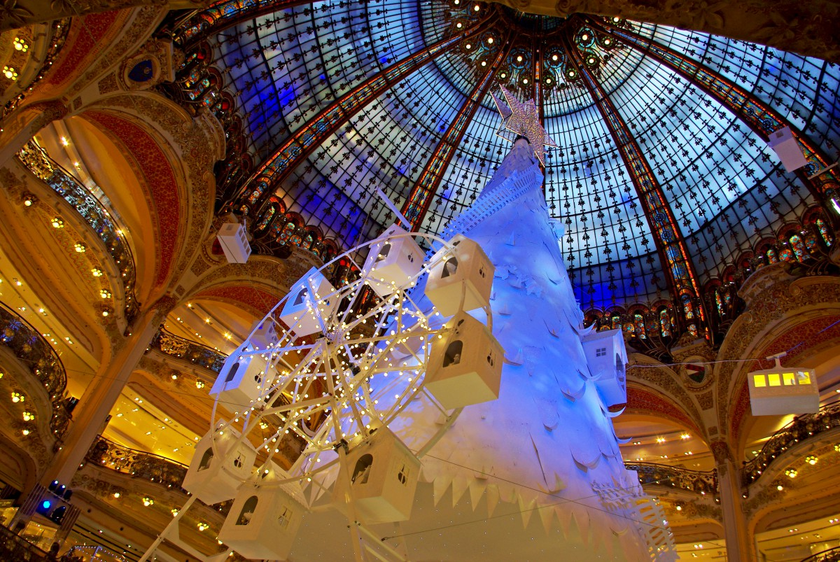 Francois Illas New Tradition: Christmas 2016 At Galeries Lafayette Haussmann
