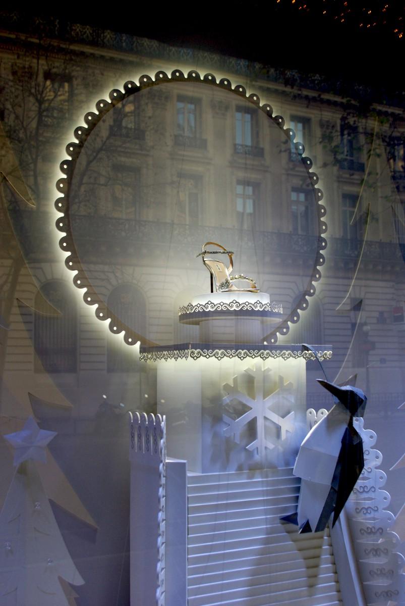 Galeries Lafayette Christmas Paris