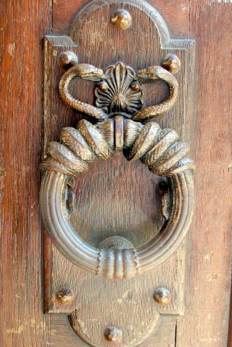 Paris door knockers and handles