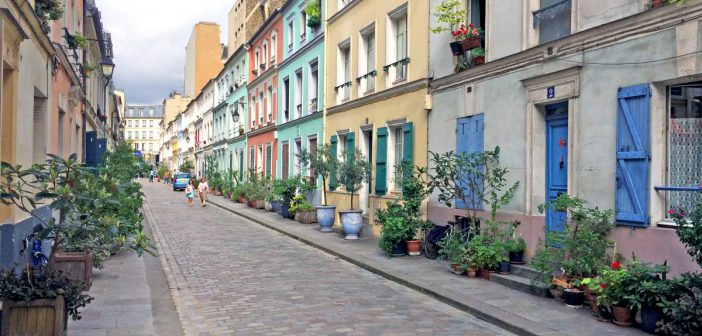 Rue Crémieux, Paris © French moments
