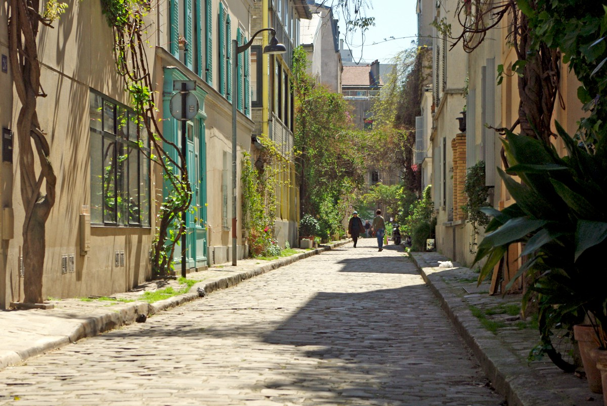 Rue des Thermopyles Paris