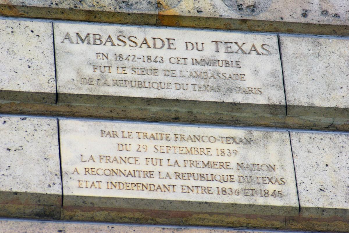 Texas Embassy in Paris