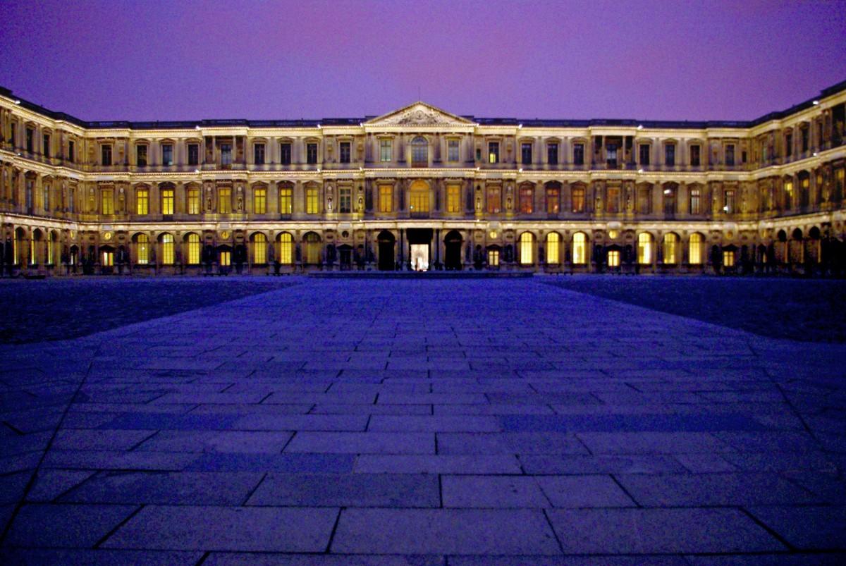 Cour Carrée Louvre Paris