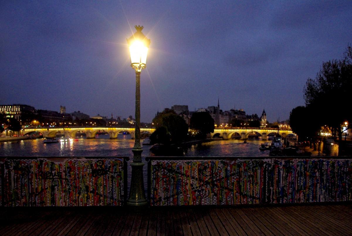 Paris Ponts des Arts Seine