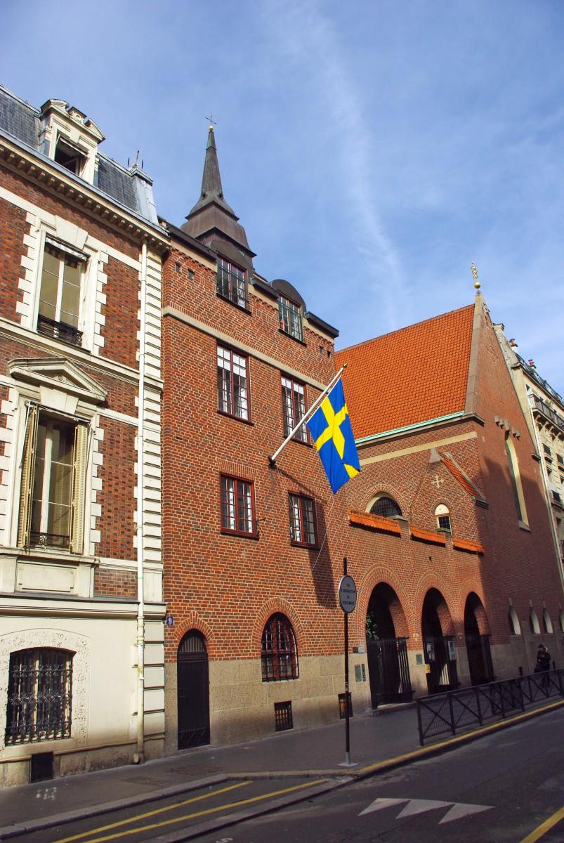 Swedish church of Paris