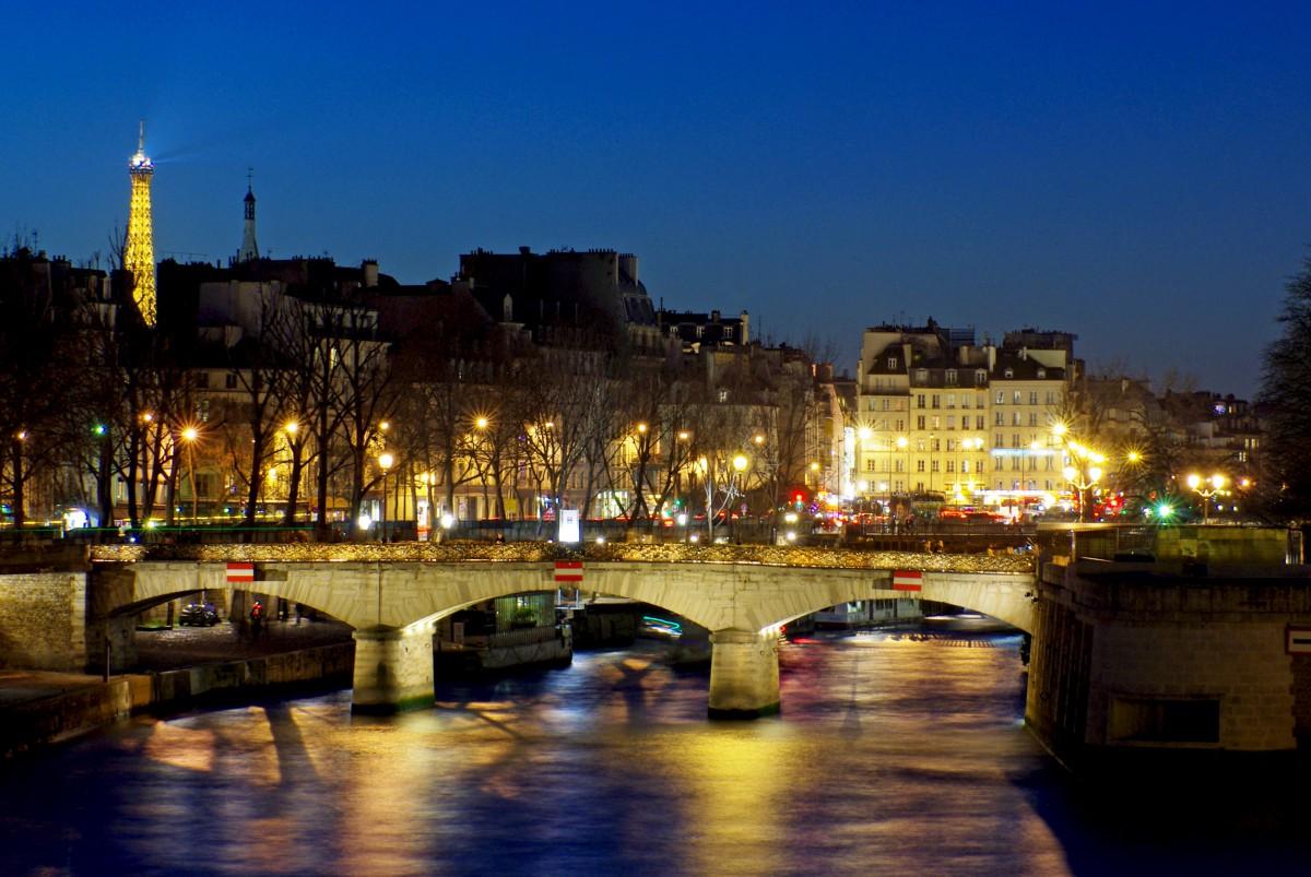 Pont de la Tournelle Paris Seine
