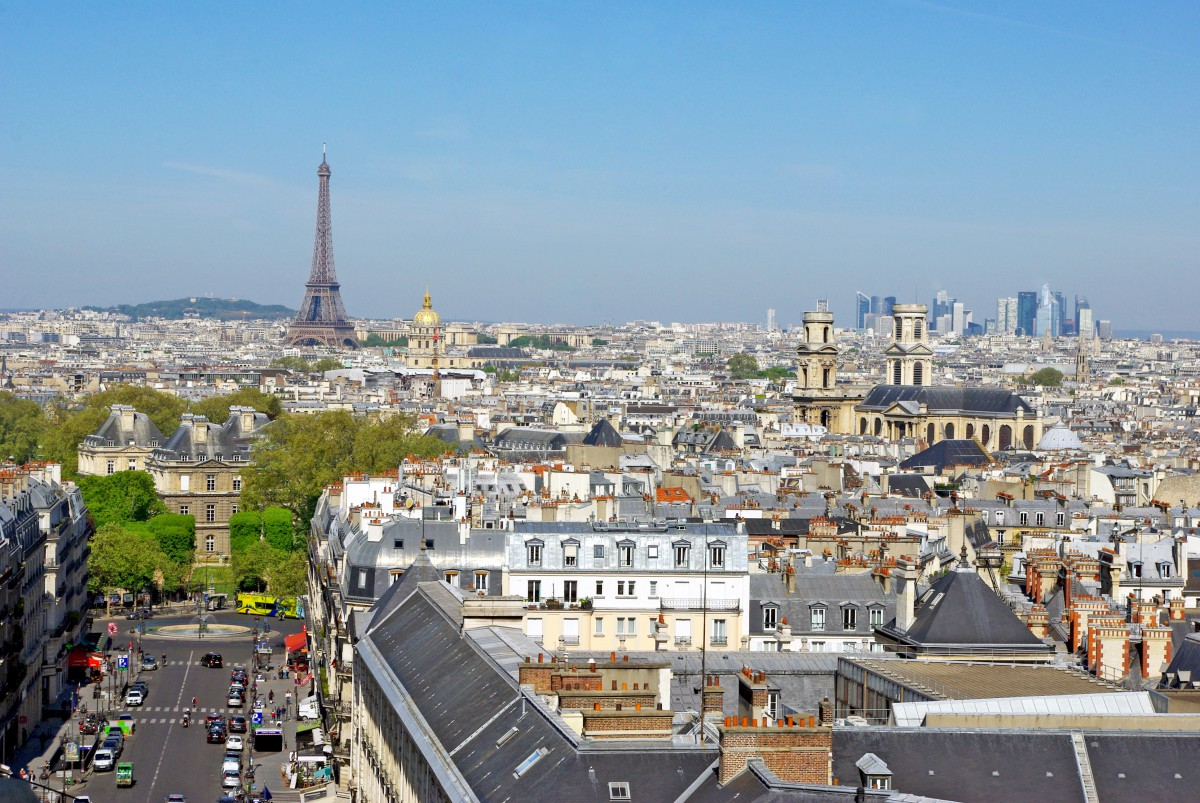 The view from the top of the Panthéon, Paris © French Moments
