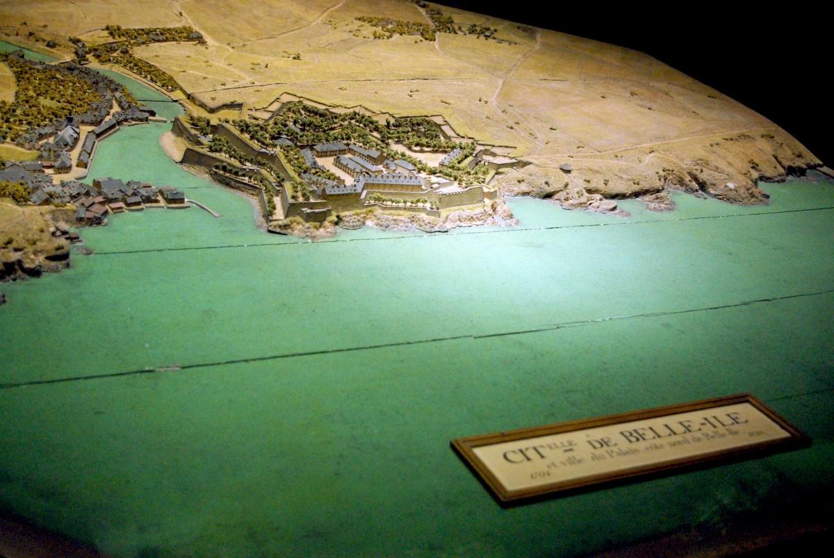 Relief Map Museum Paris