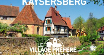 Favourite village of the French people in 2016 Kaysersberg