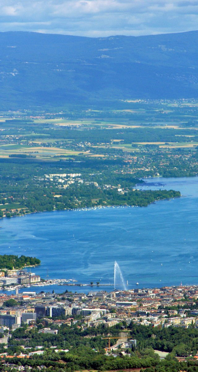 Salève mountain Lake Geneva