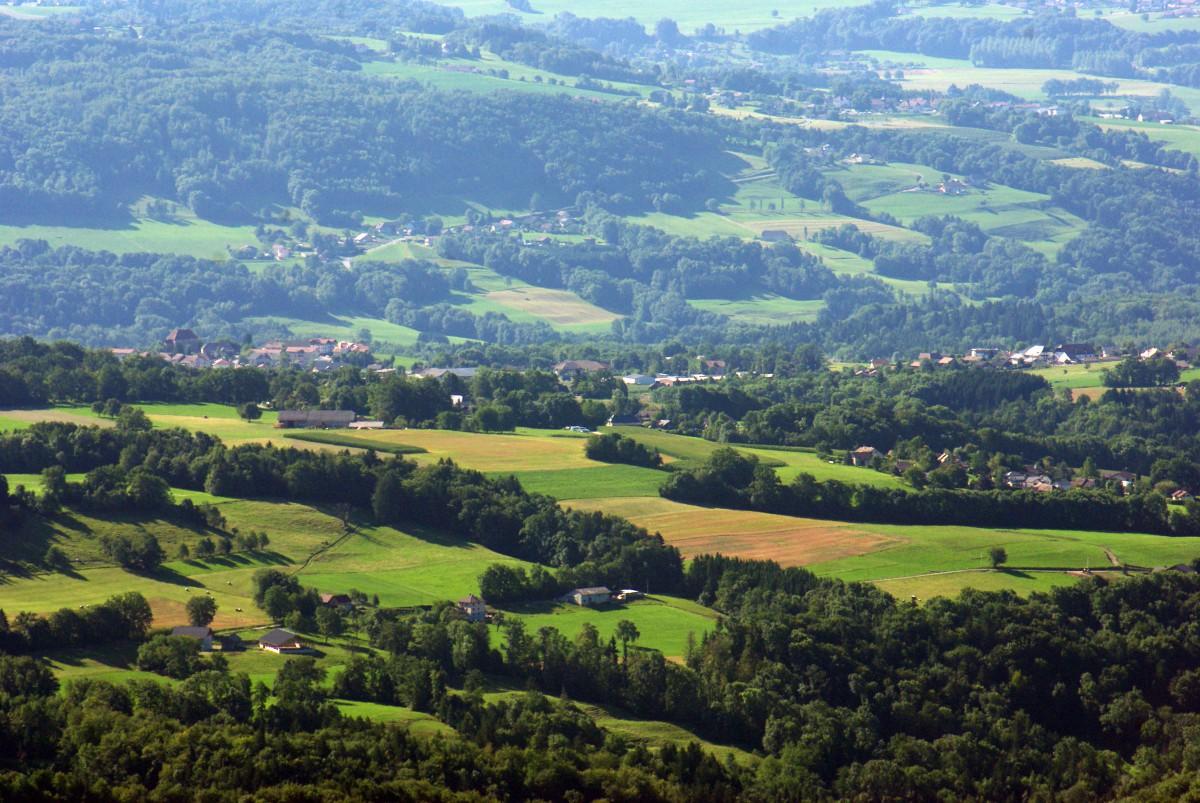 Groisy Salève mountain
