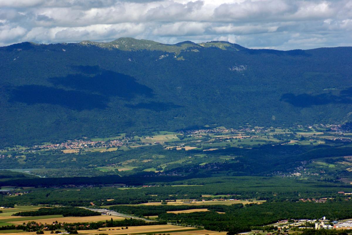 Salève mountain Jura Crêt de la neige