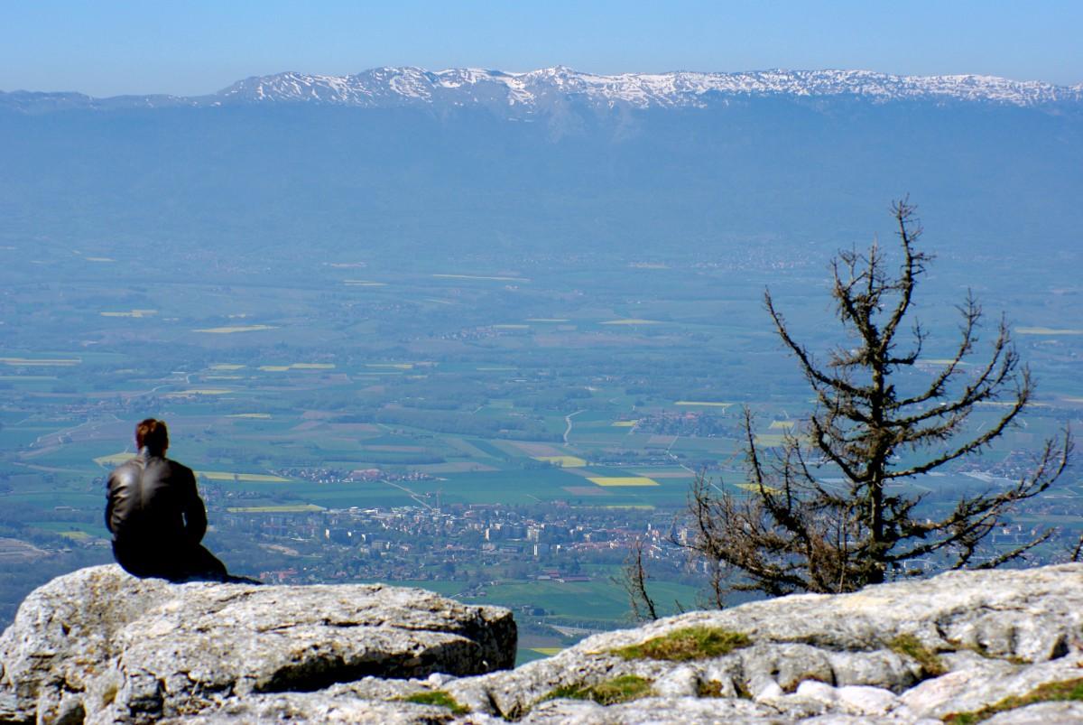 Salève mountain Monts du Jura
