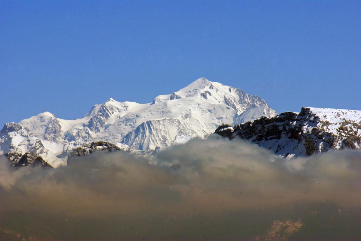 Salève mountain Mont-Blanc