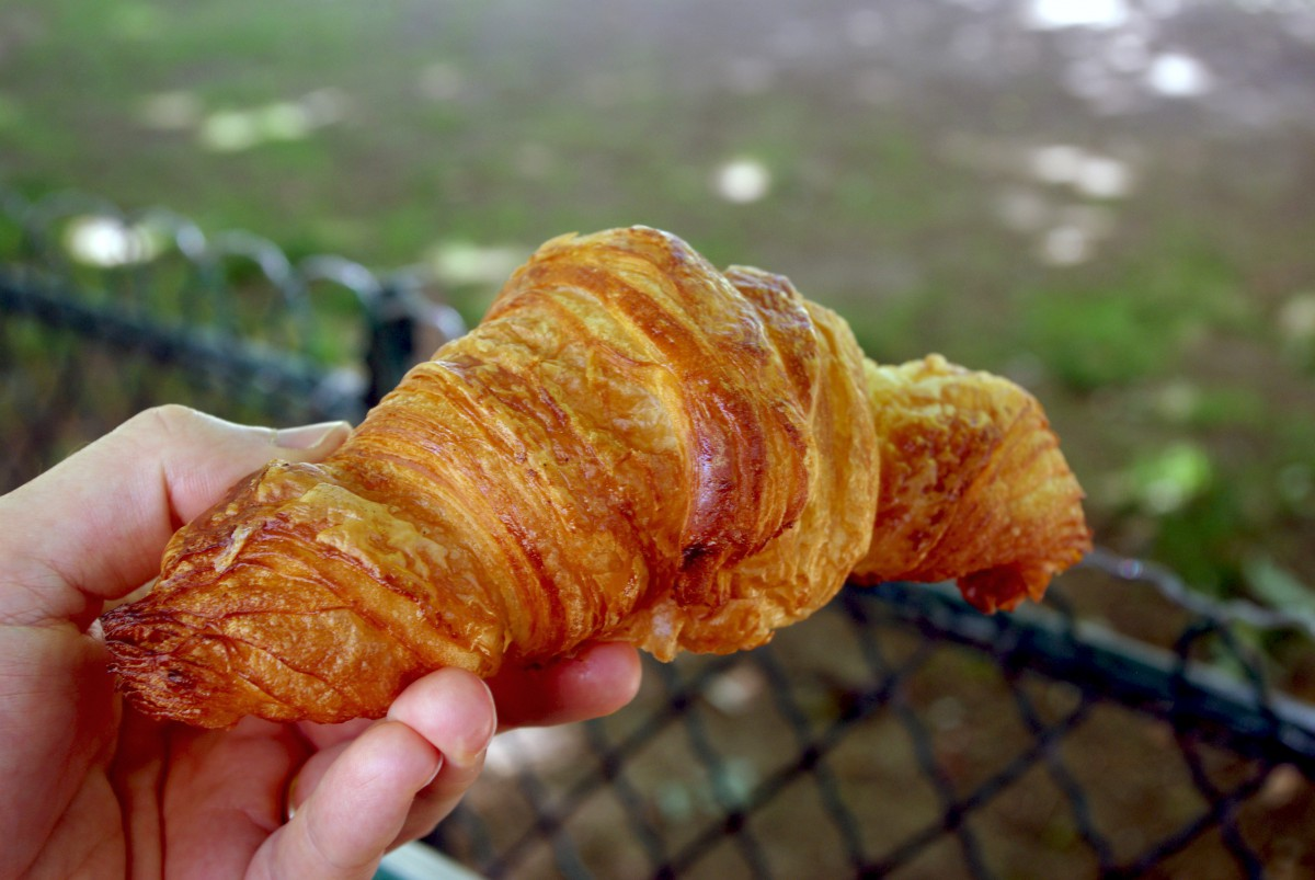 Croissant Au paradis Gourmand Paris © French Moments