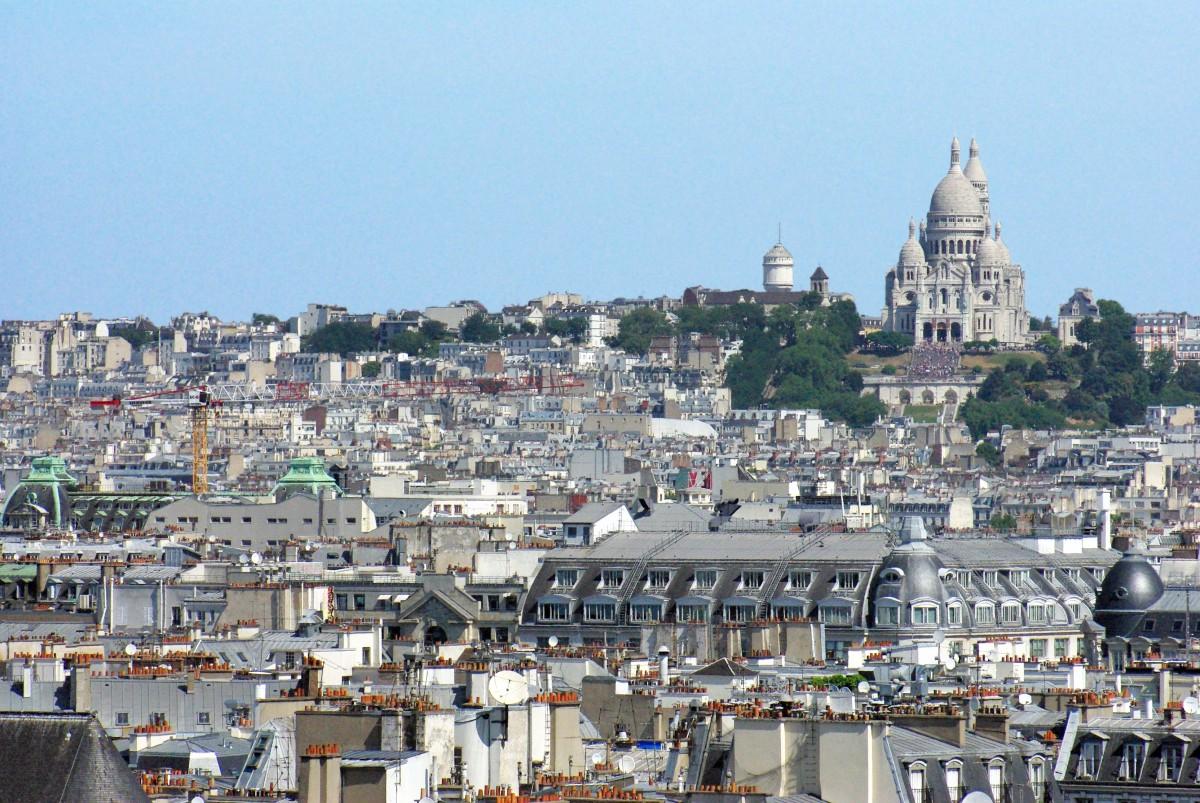 Montmartre Pompidou Centre Paris