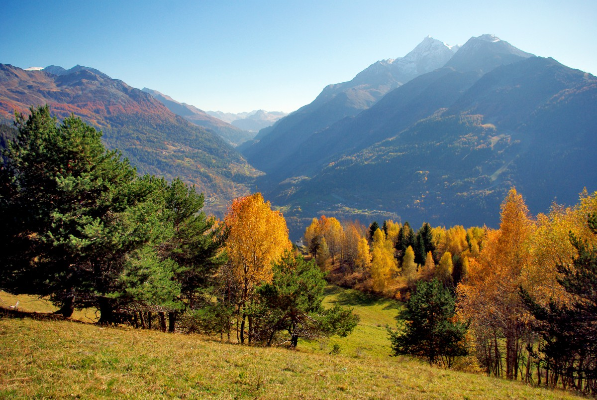 The Upper Tarentaise from Montvalezan © French Moments