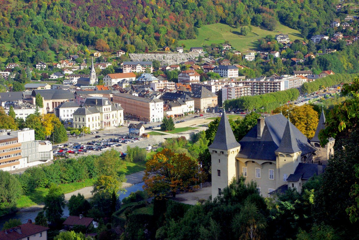 General view of Albertville © French Moments