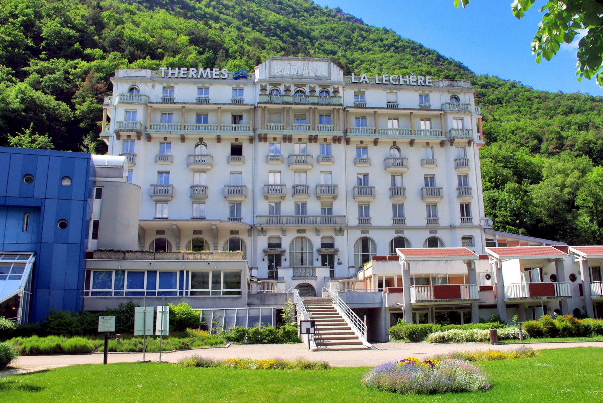 Radiana Hotel, spa resort of La Léchère-les-Bains © French Moments
