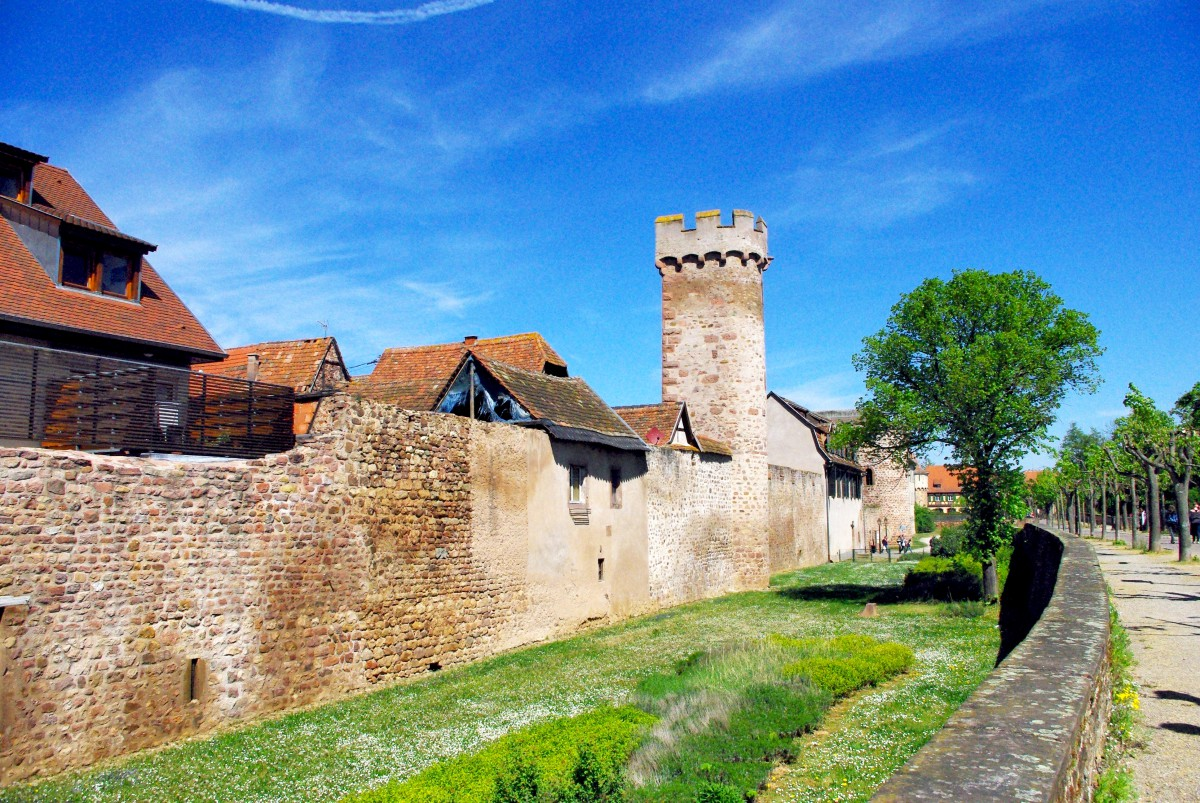 The ramparts of Obernai © French Moments